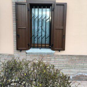 veneziane in alluminio lamelle fisse aperte Bologna Costa-Saragozza